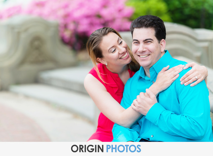 NYC central Park Engagement session Stacey & Scott