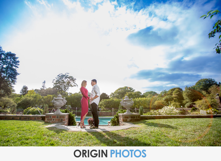 Planting Fields Arboretum Keri & Joe Engagement session